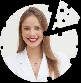 Raphaela Cordeiro - nutricionista e colaboradora do Portal do Queijo