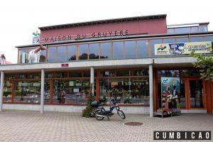 Fábrica de queijos - La Maison du Guyères Fromagerie (Foto: http://www.cumbicao.com.br)