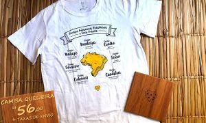Camisa Queijos Regionais Brasil ⠀