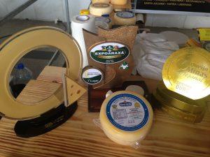 Um dos queijo premiado da microrregião de Araxá. Portal do Queijo