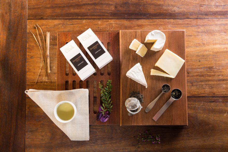 Diário do Chá - harmonização chá com queijos