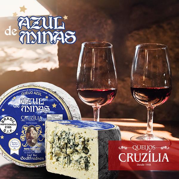 Queijo Azul de Minas - foto Cruzília