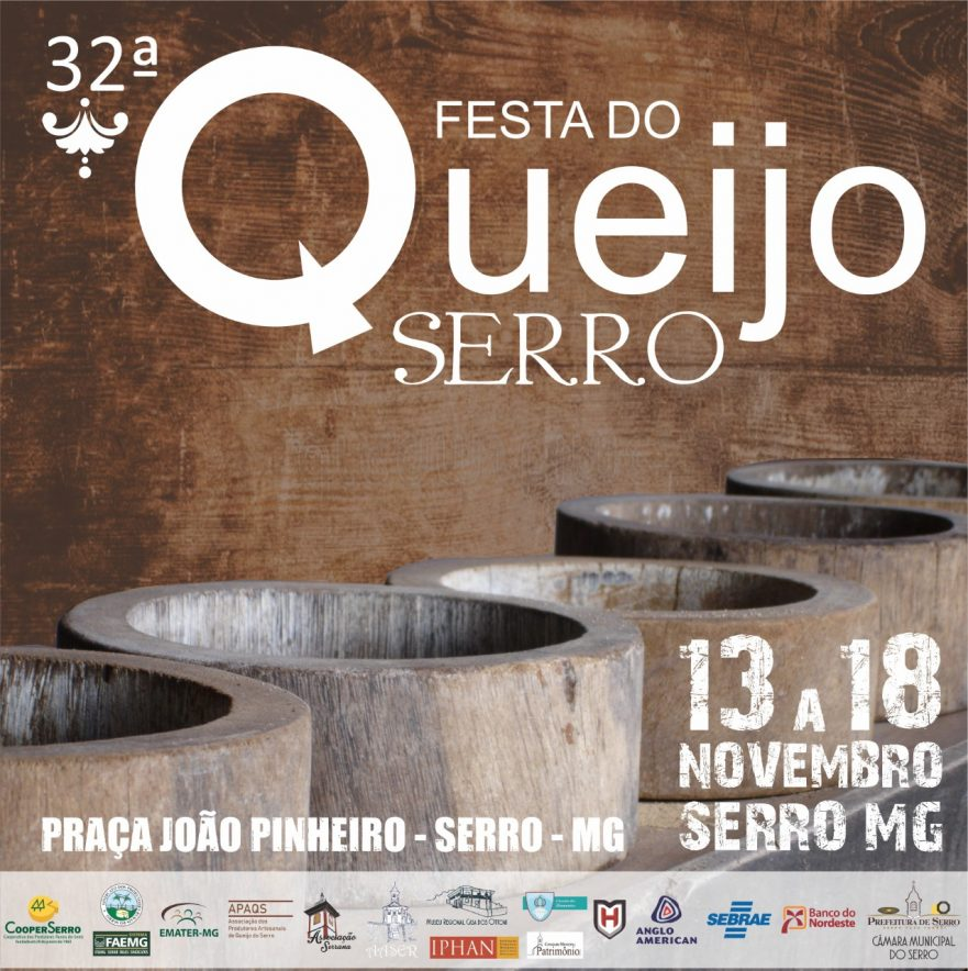 32ª Festa do Queijo de Serro/MG