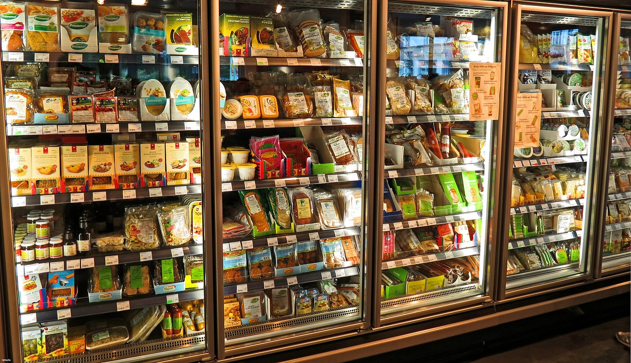 Queijos no supermercado