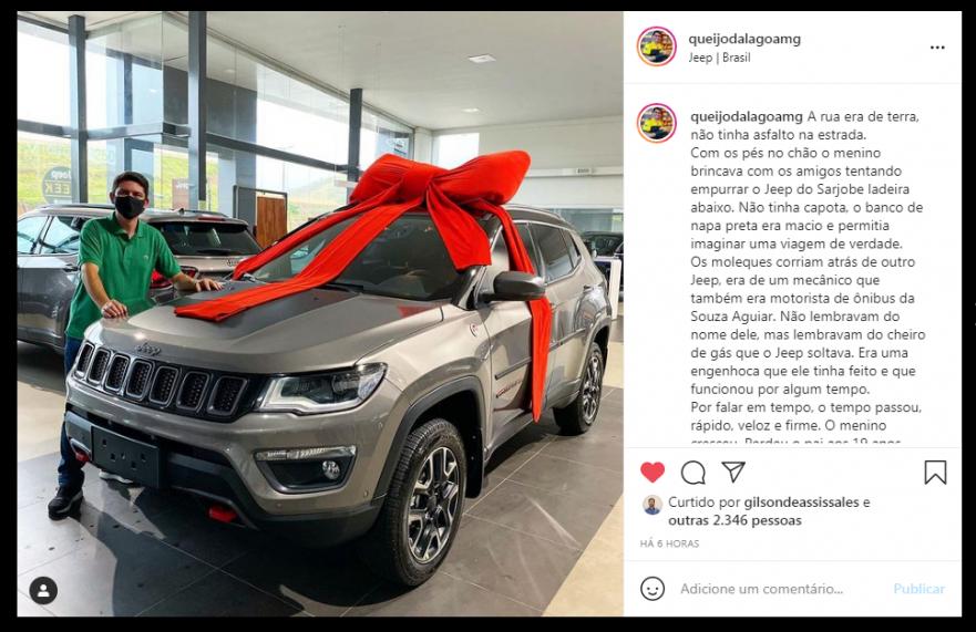 Embaixador da Jeep